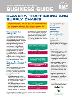 Modern slavery business guide