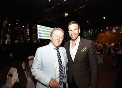 Jon Culshaw (left) and Gethin Jones
