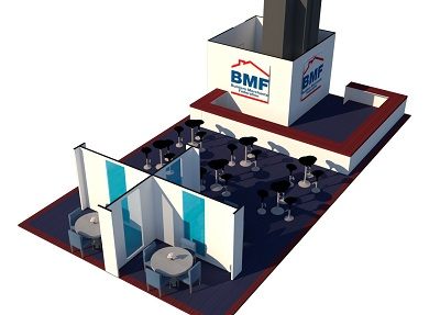 BMF Pavilion at UK Construction Week
