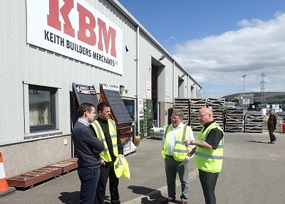 Moray MP visits Keith Builders Merchants to hear expansion plans