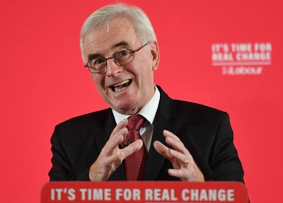 John McDonnell responds to the BMF